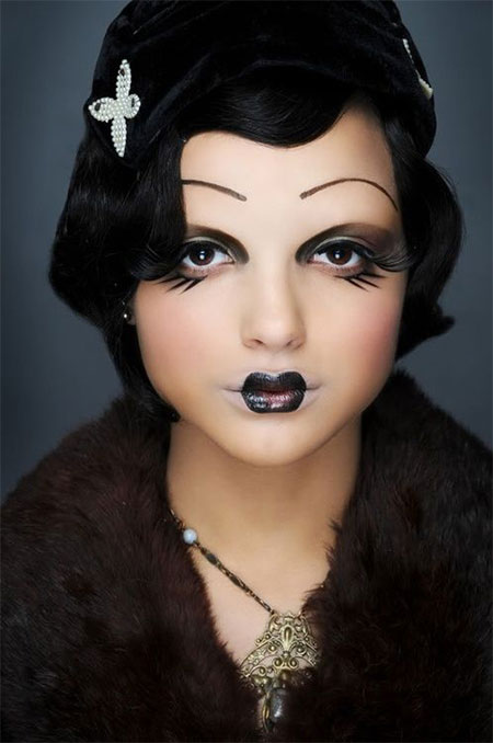 15-Scary-Doll-Halloween-Make-Up-Looks-Ideas-Trends-2014-For-Girls-1