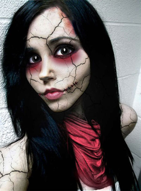 15-Scary-Doll-Halloween-Make-Up-Looks-Ideas-Trends-2014-For-Girls-10