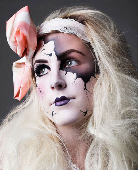 15-Scary-Doll-Halloween-Make-Up-Looks-Ideas-Trends-2014-For-Girls-7