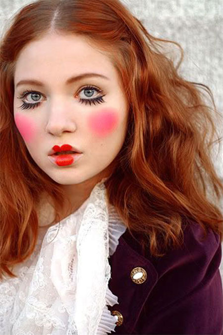 15-Scary-Doll-Halloween-Make-Up-Looks-Ideas-Trends-2014-For-Girls-8