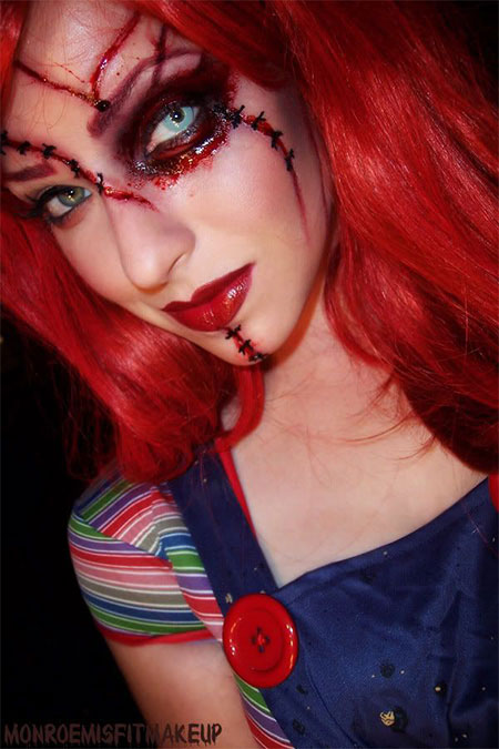 15-Scary-Doll-Halloween-Make-Up-Looks-Ideas-Trends-2014-For-Girls-9