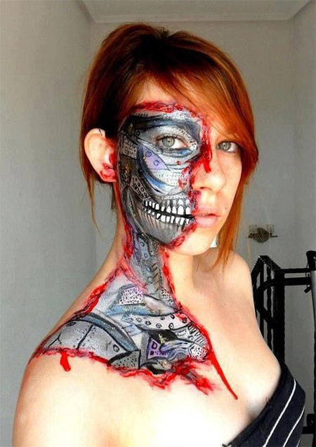 18-Best-Halloween-Half-Face-Teeth-Mouth-Make-Up-Looks-Ideas-2014-10