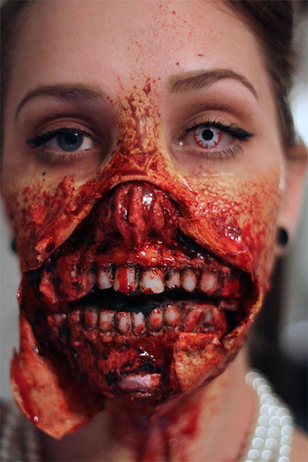 18-Best-Halloween-Half-Face-Teeth-Mouth-Make-Up-Looks-Ideas-2014-4