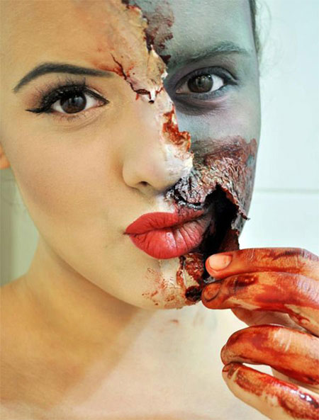 18-Best-Halloween-Half-Face-Teeth-Mouth-Make-Up-Looks-Ideas-2014-7