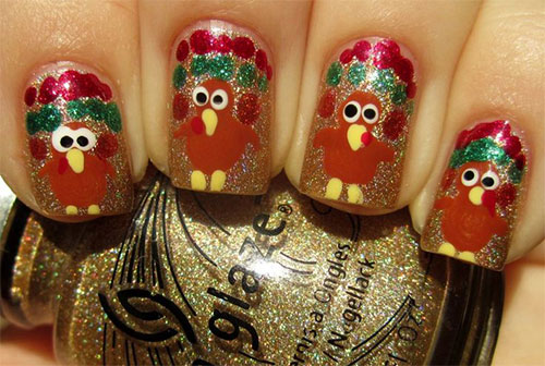 18-Turkey-Nail-Art-Designs-Ideas-Trends-Stickers-2014-3