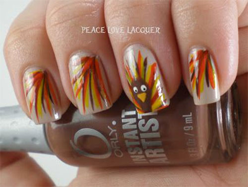 18 Turkey Nail Art Designs Ideas Trends Stickers 2014 Girlshue
