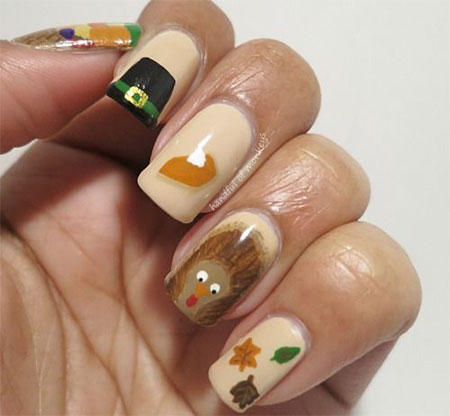 25-Thanksgiving-Nail-Art-Designs-Ideas-Stickers-For-Girls-2014-4