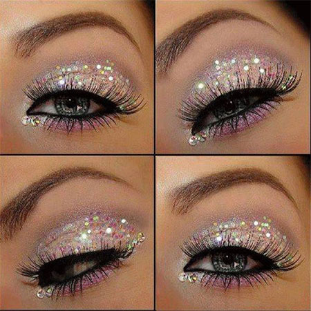 12-Christmas-Eye-Make-Up-Looks-Ideas-Trends-Designs-For-Girls-2014-1