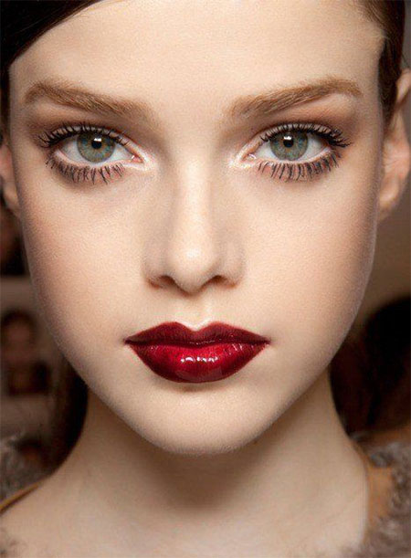 12-Christmas-Face-Make-Up-Looks-Ideas-Trends-Designs-For-Girls-2014-2
