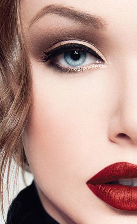 12-Christmas-Face-Make-Up-Looks-Ideas-Trends-Designs-For-Girls-2014-8