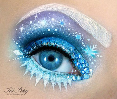 12-Christmas-Fantasy-Make-Up Ideas-Looks-Designs-For-Girls-2014-10