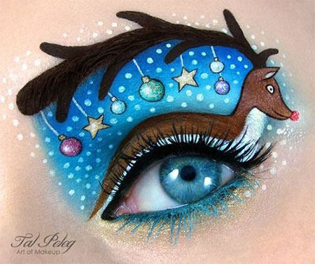12-Christmas-Fantasy-Make-Up Ideas-Looks-Designs-For-Girls-2014-11