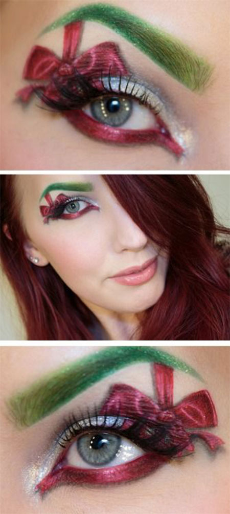 12-Christmas-Fantasy-Make-Up Ideas-Looks-Designs-For-Girls-2014-2