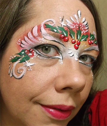 12-Christmas-Fantasy-Make-Up Ideas-Looks-Designs-For-Girls-2014-4