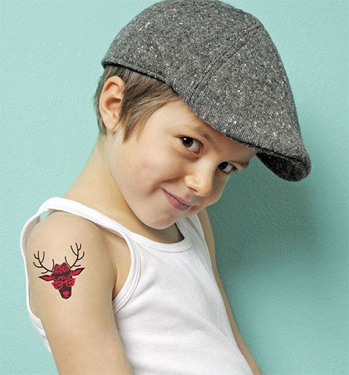 12-Christmas-Temporary-Tattoos-Designs-Ideas-For-Kids-Girls-Women-2014-9