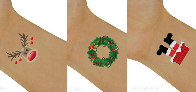 12-Christmas-Temporary-Tattoos-Designs-Ideas-For-Kids-Girls-Women-2014