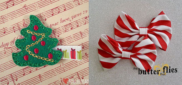 15-Cute-Christmas-Hairbows-Clips-For-Women-2014-Fashion-Accessories