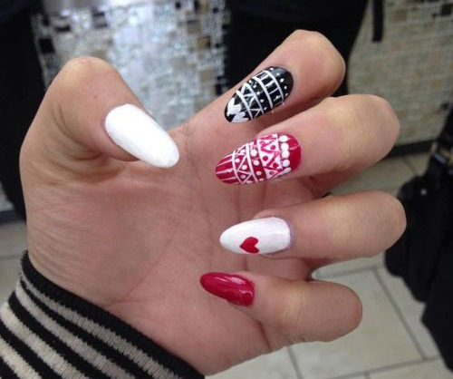 30 Funky And Trendy Nail Art Designs For 2014: 30 Best Christmas Nail Art Designs, Ideas, Trends