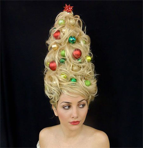 Cute-Christmas-Hairstyles-For-Girls-Women-2014-2