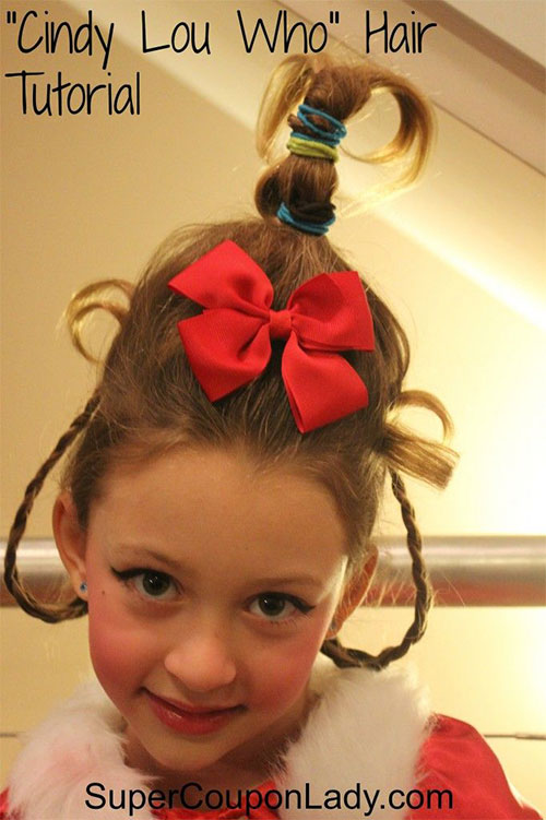 Cute-Christmas-Hairstyles-For-Girls-Women-2014-8