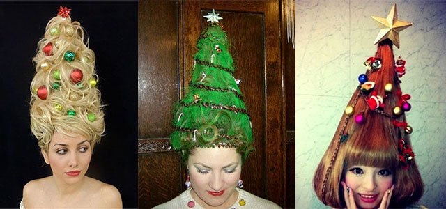 Outstanding Cute Christmas Hairstyles Trends Amp Ideas For Girls Amp Women 2014 Hairstyles For Women Draintrainus