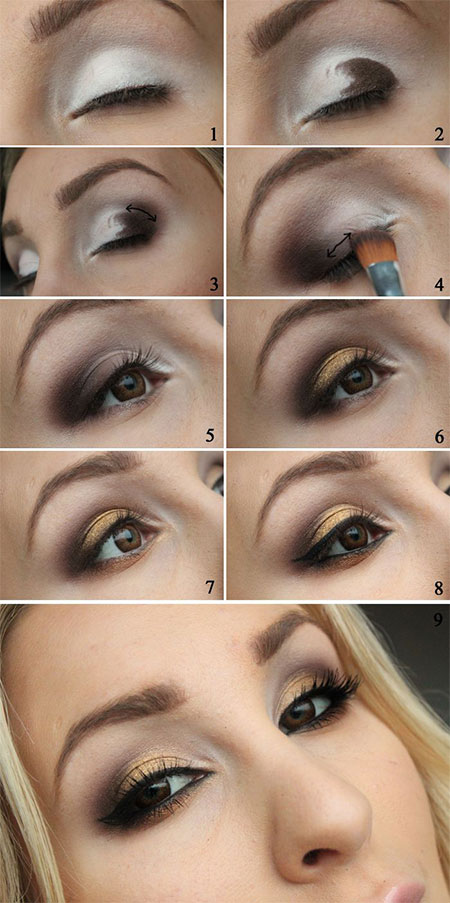 Easy-Step-By-Step-Christmas-Make-Up-Tutorials-For-Beginners-Learners-2014-1