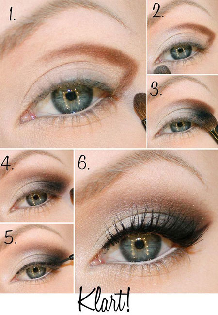 Easy-Step-By-Step-Christmas-Make-Up-Tutorials-For-Beginners-Learners-2014-8