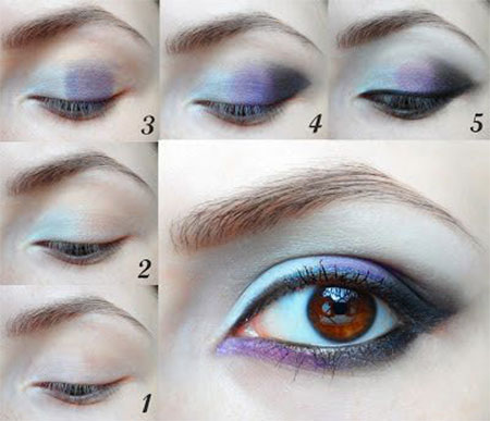 Easy-Step-By-Step-Christmas-Make-Up-Tutorials-For-Beginners-Learners-2014-9