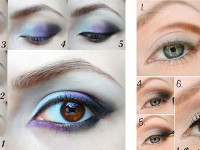 Easy-Step-By-Step-Christmas-Make-Up-Tutorials-For-Beginners-Learners-2014