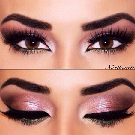 15-Inspiring-Winter-Eye-Make-Up-Looks-Ideas-Trends-For-Girls-Winter-2015-2