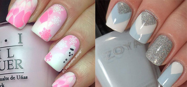 Winter Nail Art Ideas Girlshue