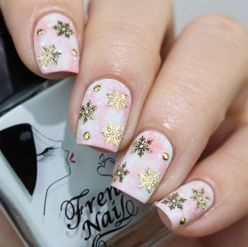 Girl nail 15 winter nail art designs ideas trends 15 winter nail art designs ideas trends stickers prinsesfo Image collections