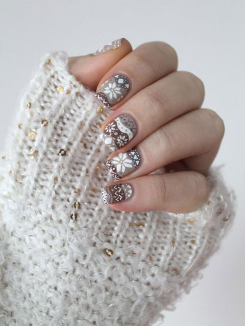 Winter Nail Art Designs Ideas Trends Stickers 2015 7 15+ Winter Nail ...