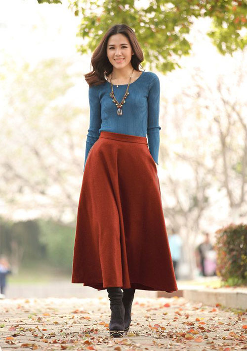 18-Winter-Fashion-Outfit-Trends-For-Girls-Women-2015-Street-Dresses-5