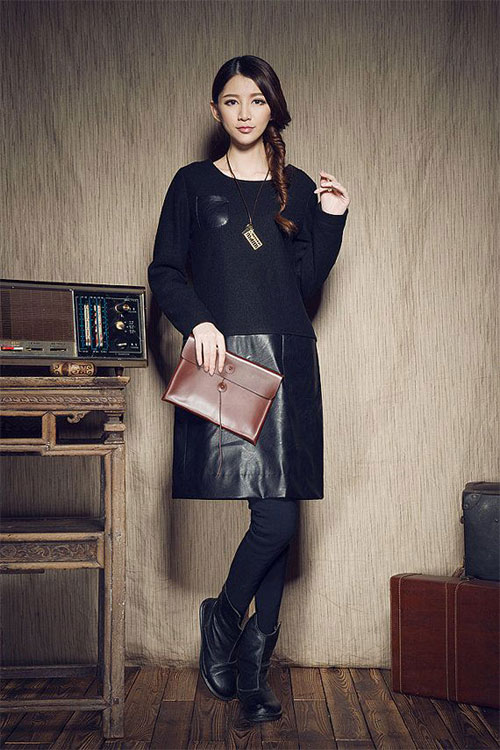 18-Winter-Fashion-Outfit-Trends-For-Girls-Women-2015-Street-Dresses-9