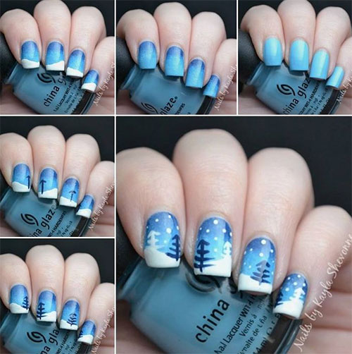 The Nail Art Trend: [Tutorial] The Trend: Floral Nail Art