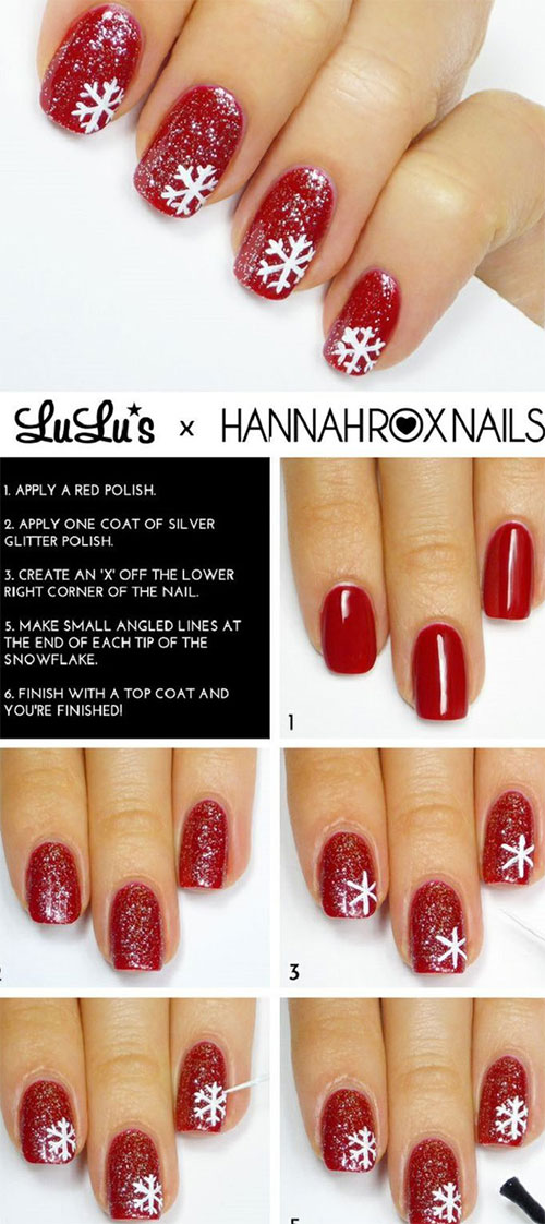 Easy-Step-By-Step-Winter-Nail-Art-Tutorials-For-Beginners-Learners-2015-4