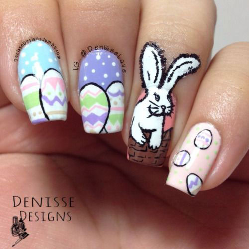 12-Easter-Egg-Bunny-Nail-Art-Designs-Ideas-Trends-Stickers-2015-7