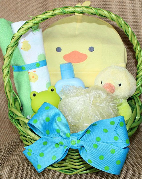 15 easter bunny gift basket ideas for kids babies girls 2015 15 easter bunny gift basket ideas for kids negle Image collections