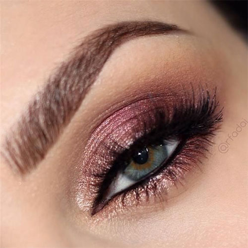 dramatic pink eye makeup
