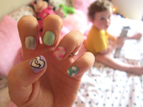 15-Mothers-Day-Nail-Art-Designs-Ideas-Trends-Stickers-2015-15