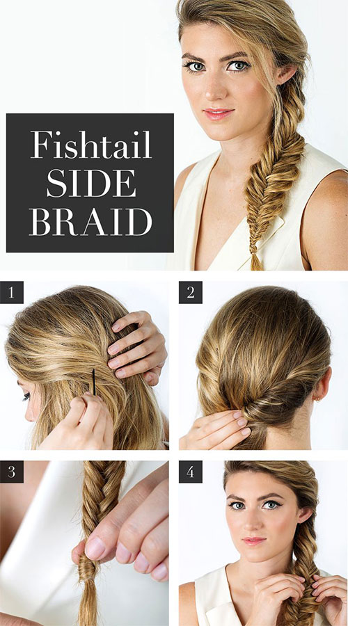 15 Step By Step Summer Hairstyle Tutorials For Beginners Learners