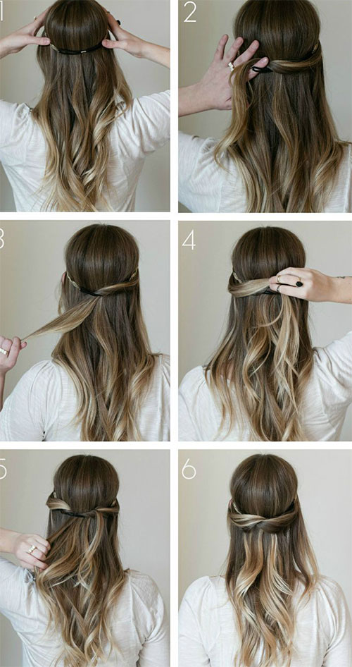 Hairstyles Step By Step be ready to stand out of crowd with this romantic heart braided hairstyle diy 15 Step By Step Summer Hairstyle Tutorials For