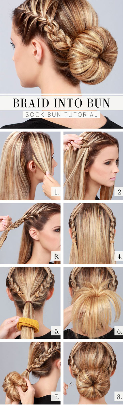 12 Step By Step Summer Hairstyle Tutorials For Beginners ...