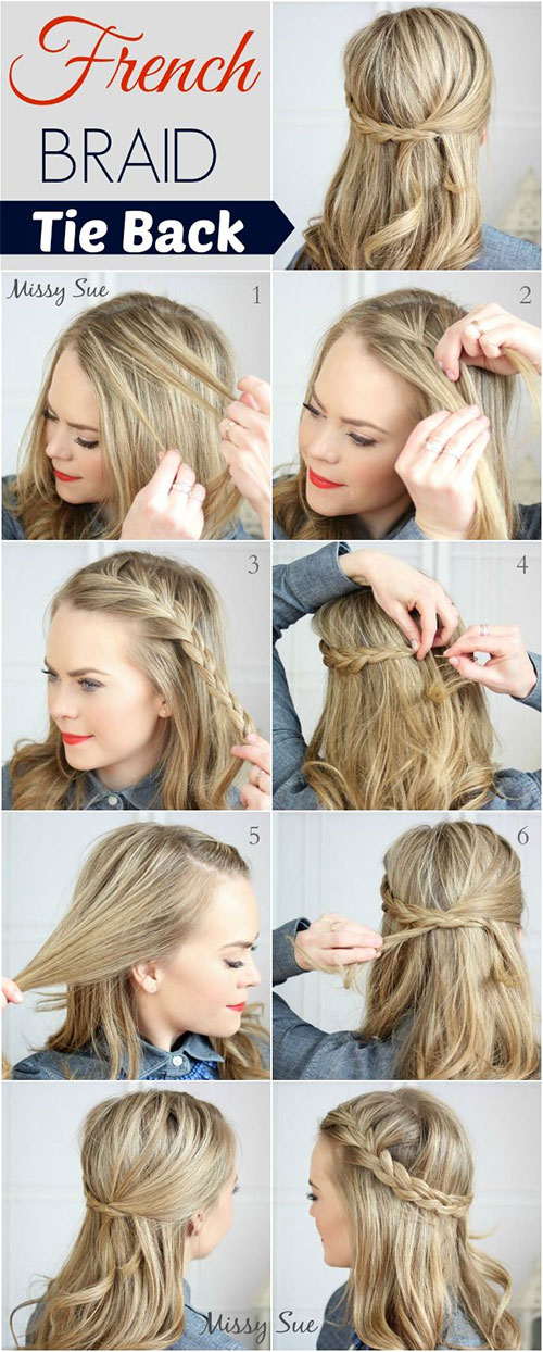 Incredible 15 Step By Step Summer Hairstyle Tutorials For Beginners Short Hairstyles Gunalazisus