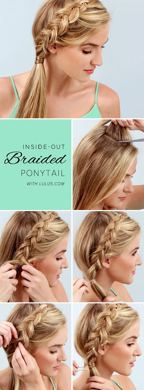 15 Step By Step Summer Hairstyle Tutorials For Beginners - Easy Hairstyles Step By Step