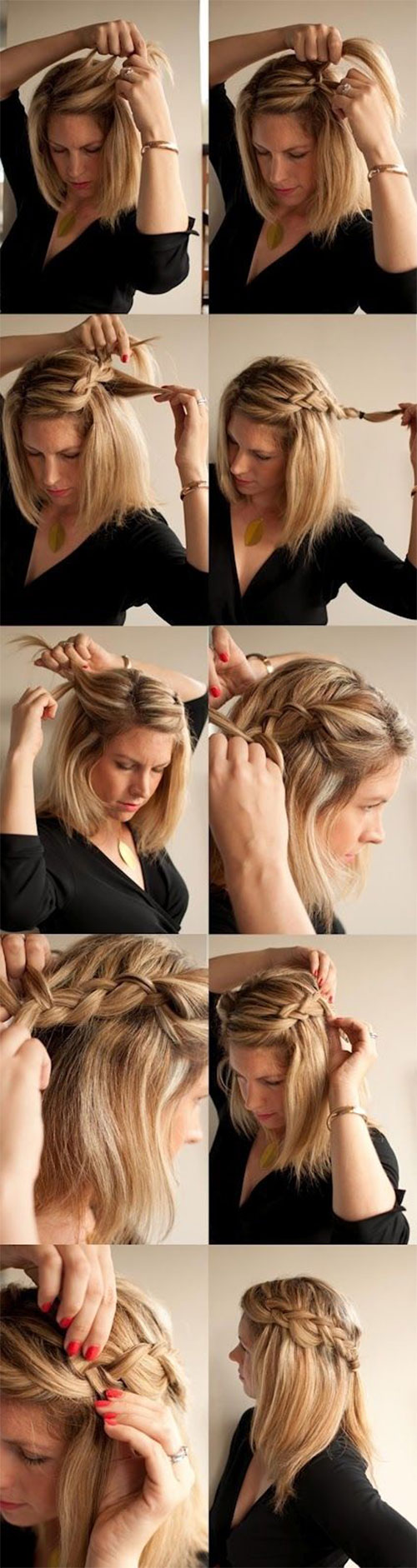 15 Step By Step Summer Hairstyle Tutorials For Beginners ...