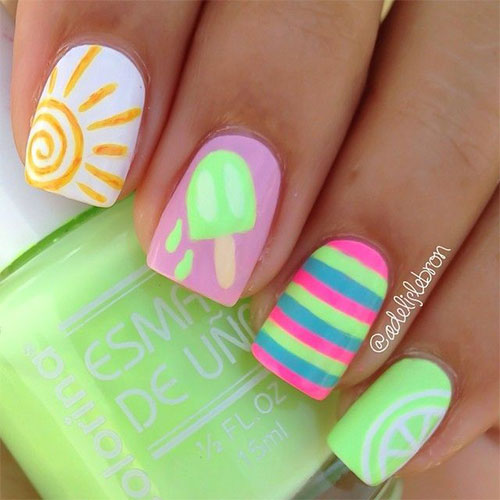 20 best summer nail art designs ideas trends stickers 2015