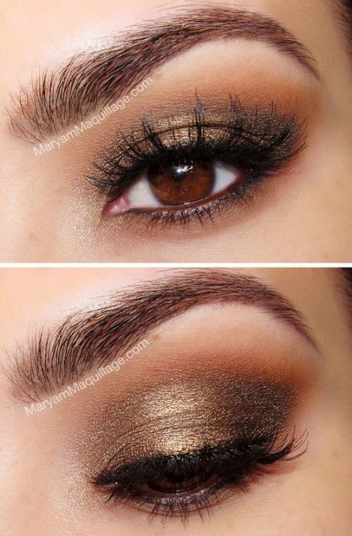 Natural Eye Make Up Ideas 2015