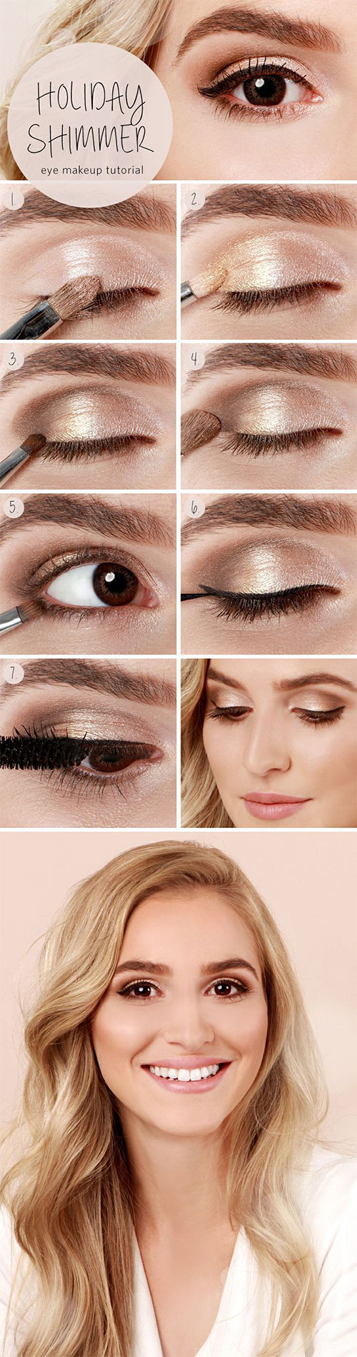 Step-By-Step-Summer-Make-Up-Tutorials-For-Beginners-Learners-2015-2